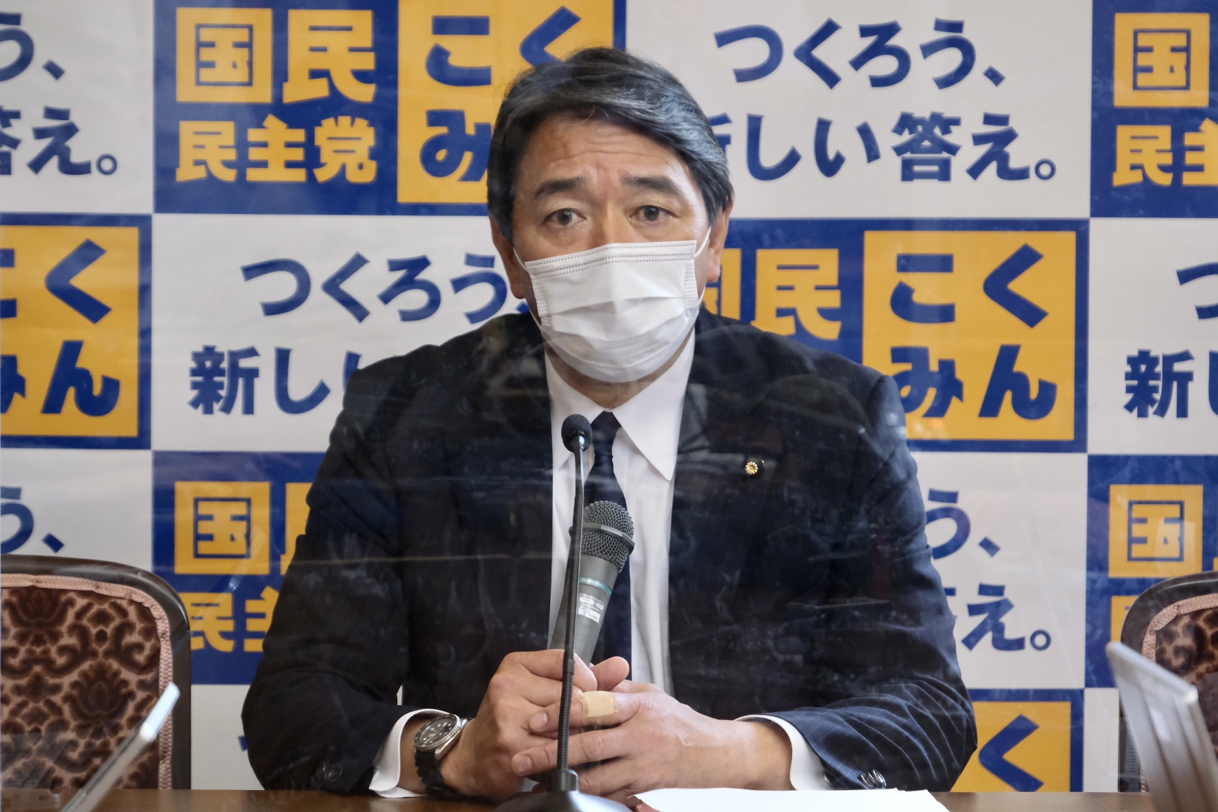 国民民主党 幹事長定例会見(2021年5月14日)
