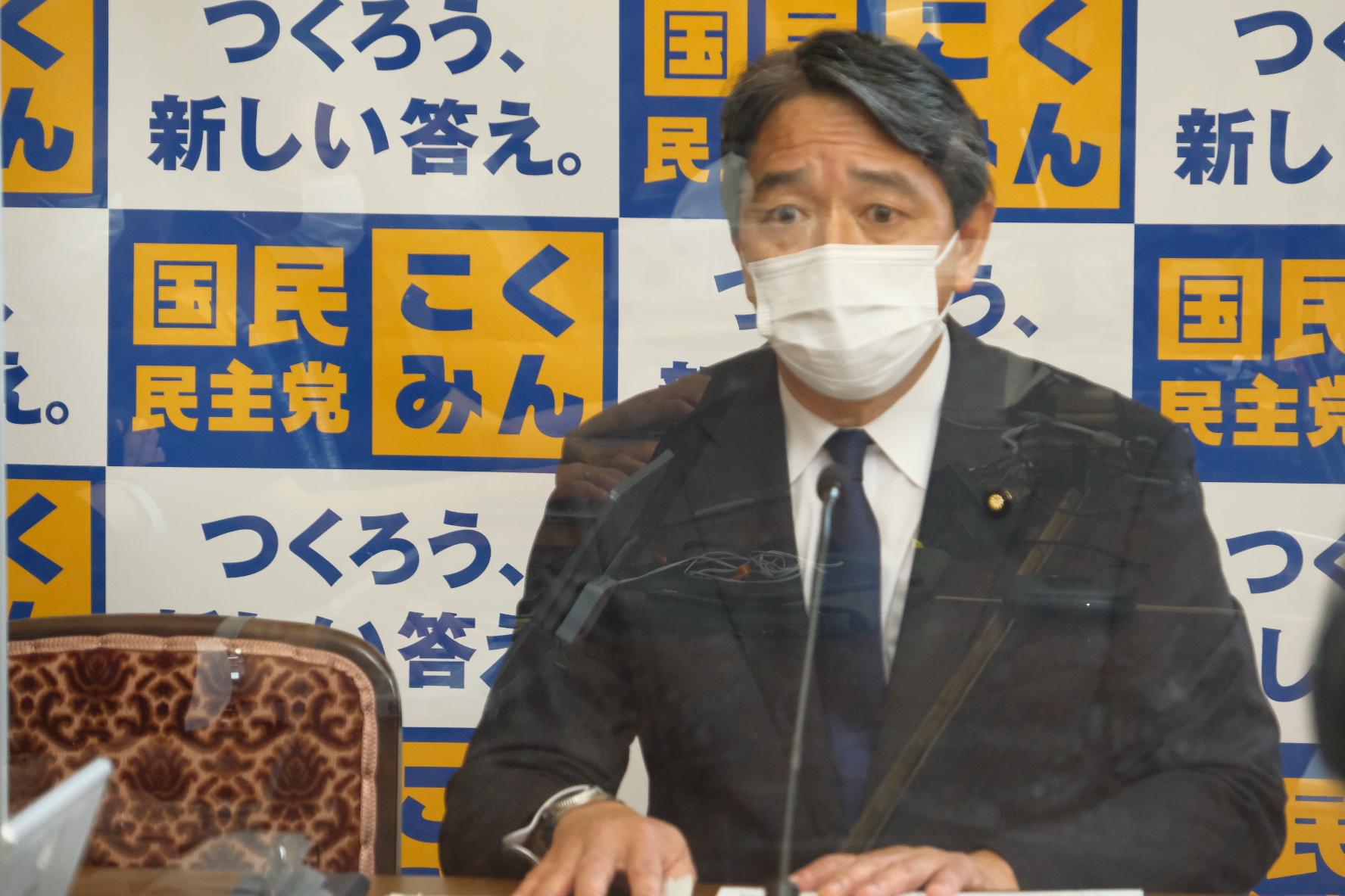 国民民主党 幹事長定例会見(2021年5月28日)