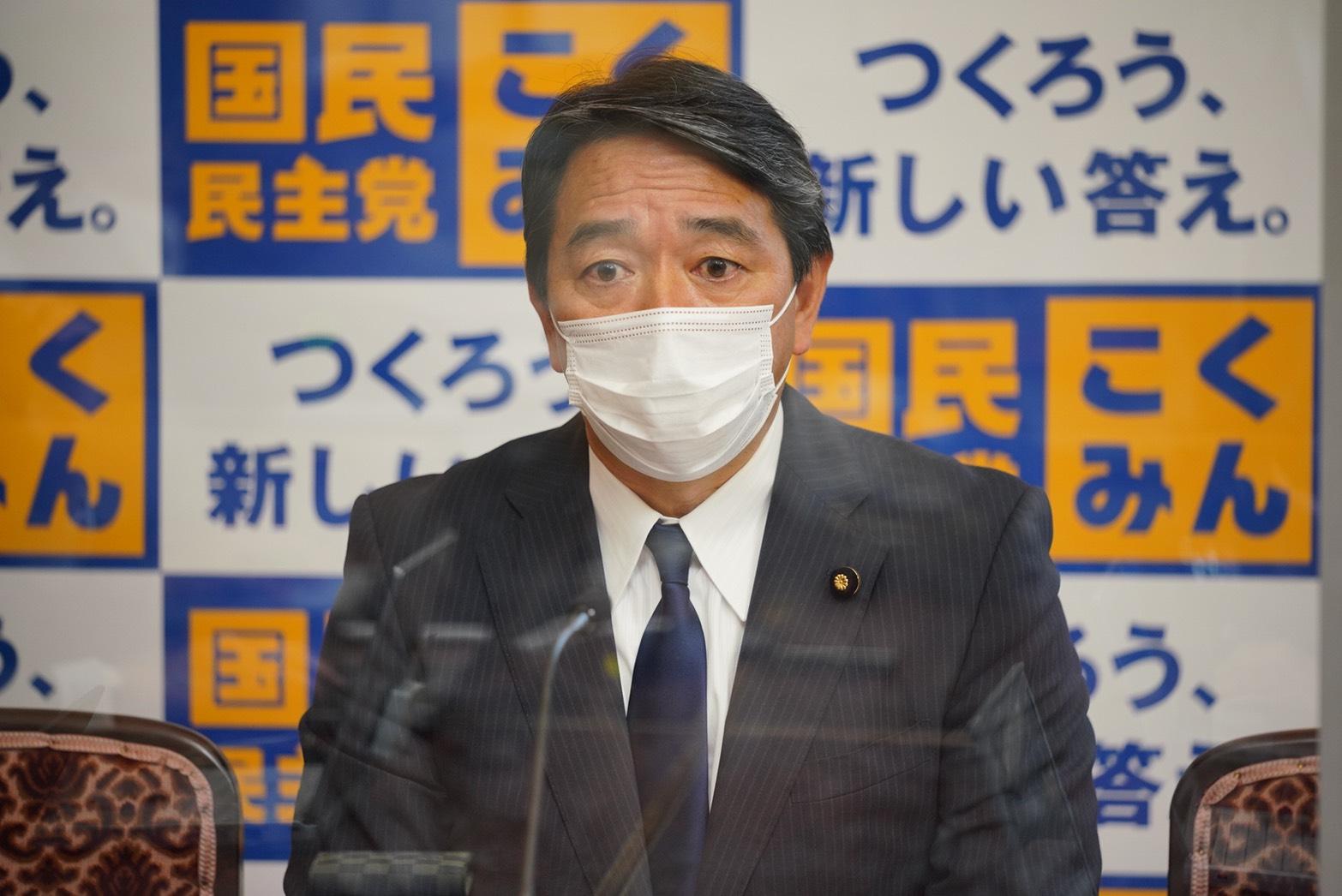 国民民主党 幹事長定例会見(2021年5月7日)