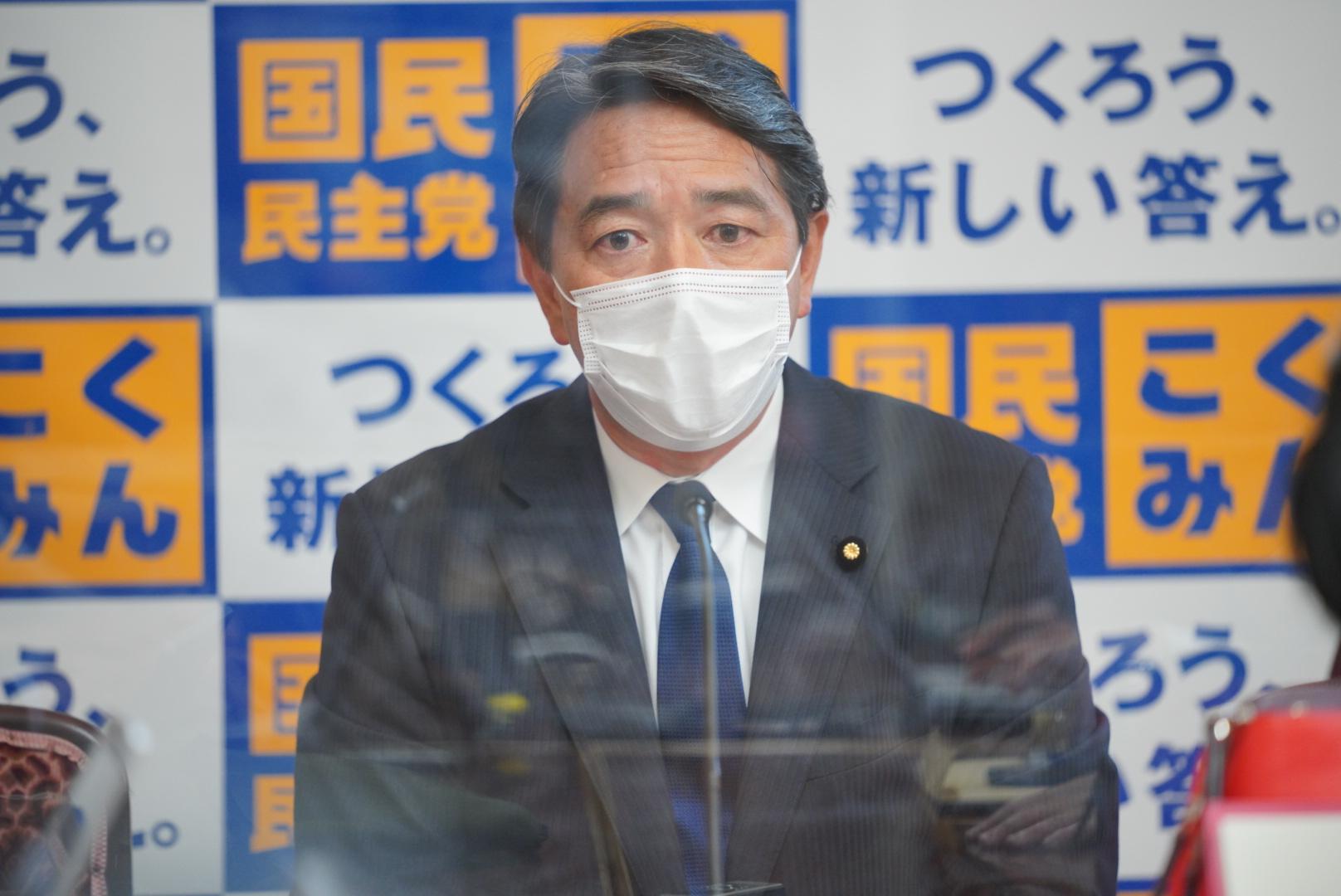 国民民主党 幹事長定例会見(2021年6月4日)