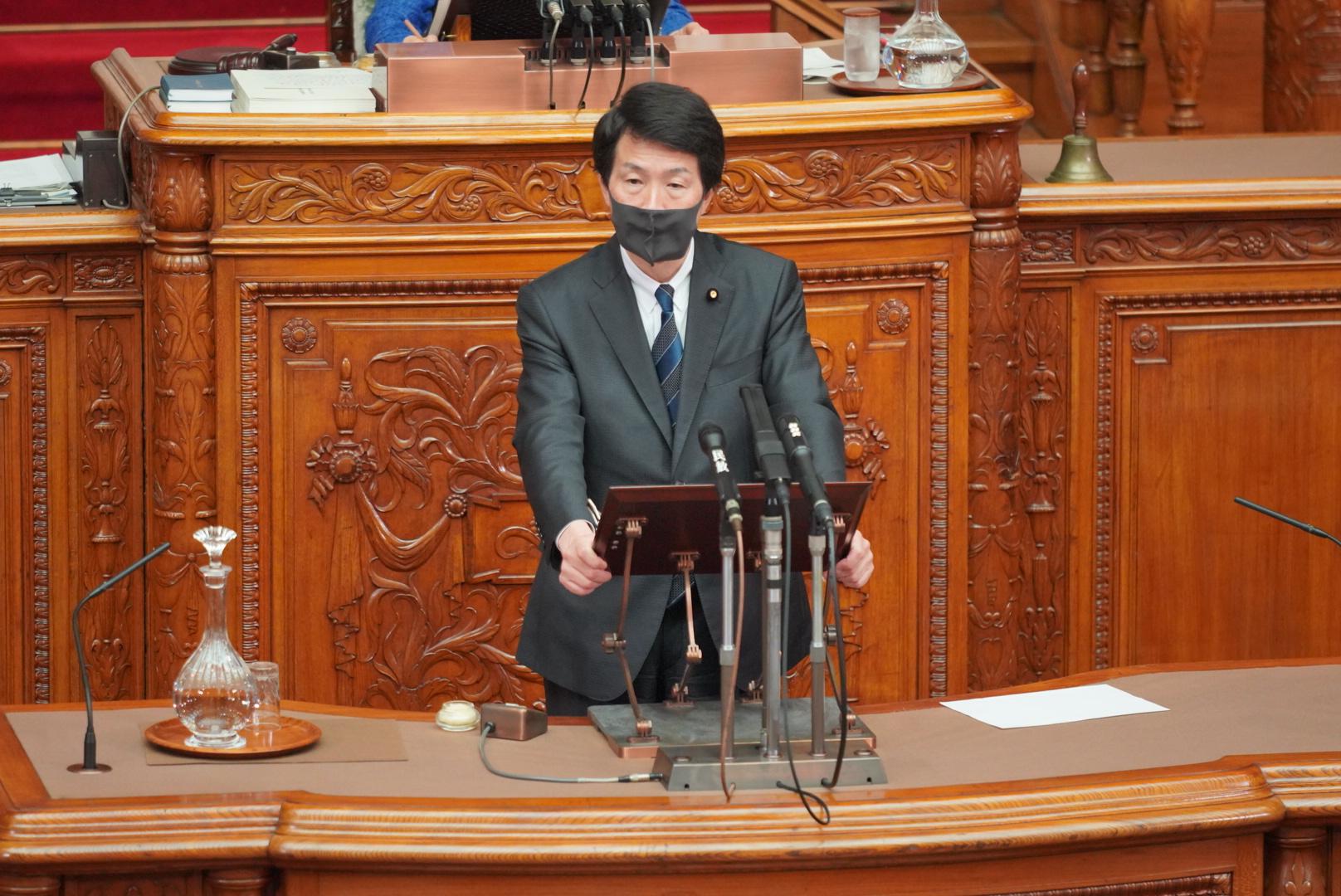 【参本会議】大塚耕平代表代行が「重要土地等調査法案」について質疑