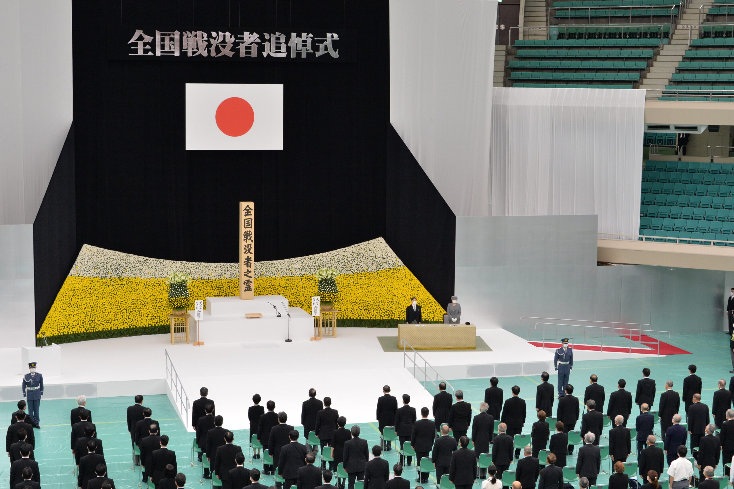 玉木代表が全国戦没者追悼式に参列