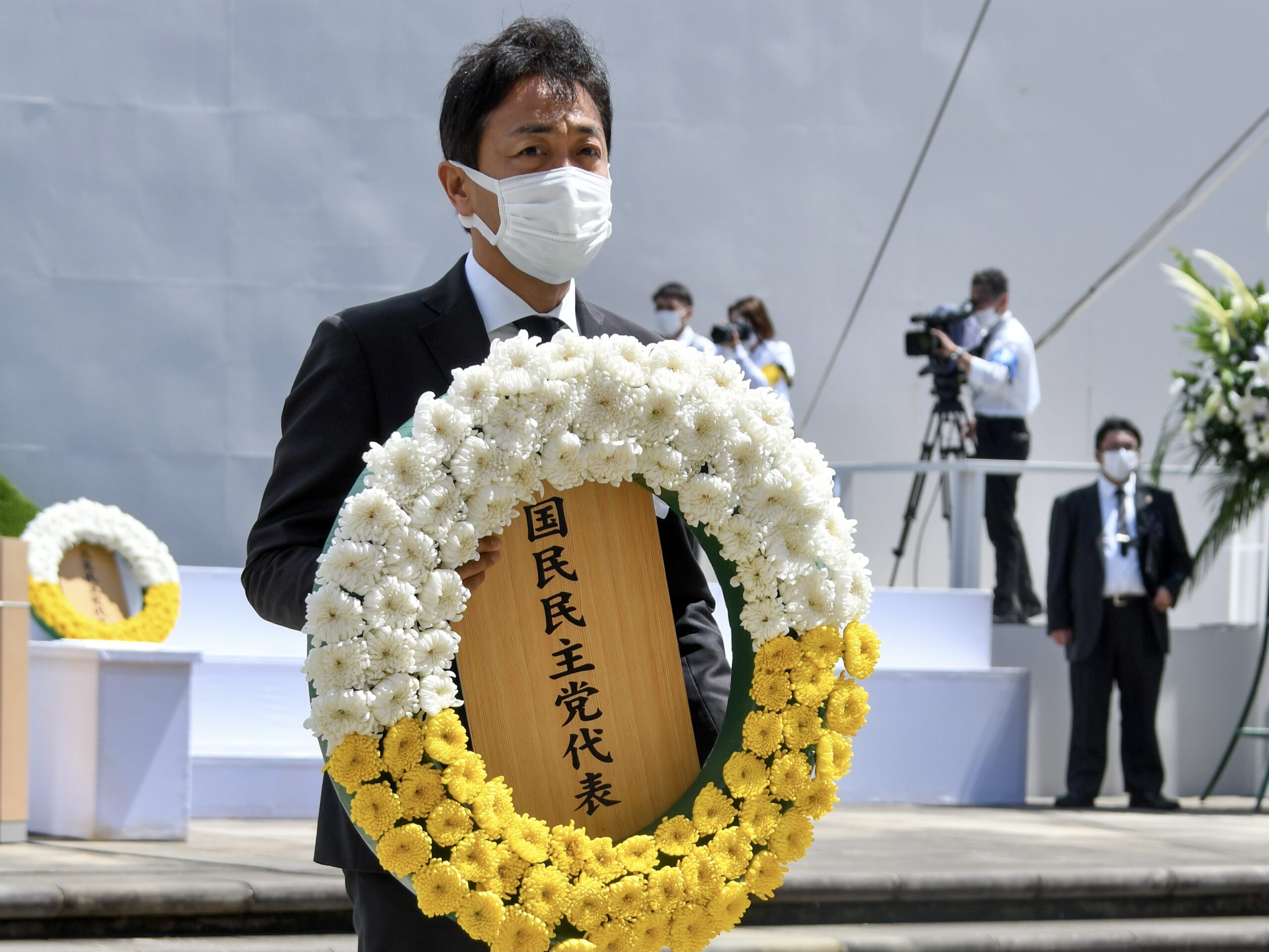 【長崎】玉木代表が被爆76周年長崎原爆犠牲者慰霊平和祈念式典に参列