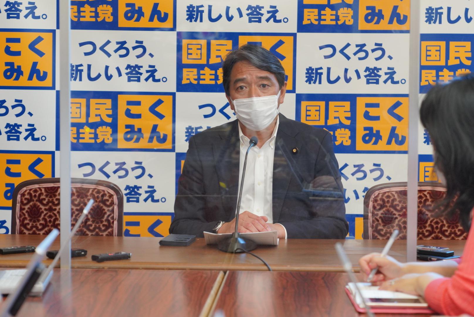 国民民主党 幹事長定例会見(2021年8月4日)