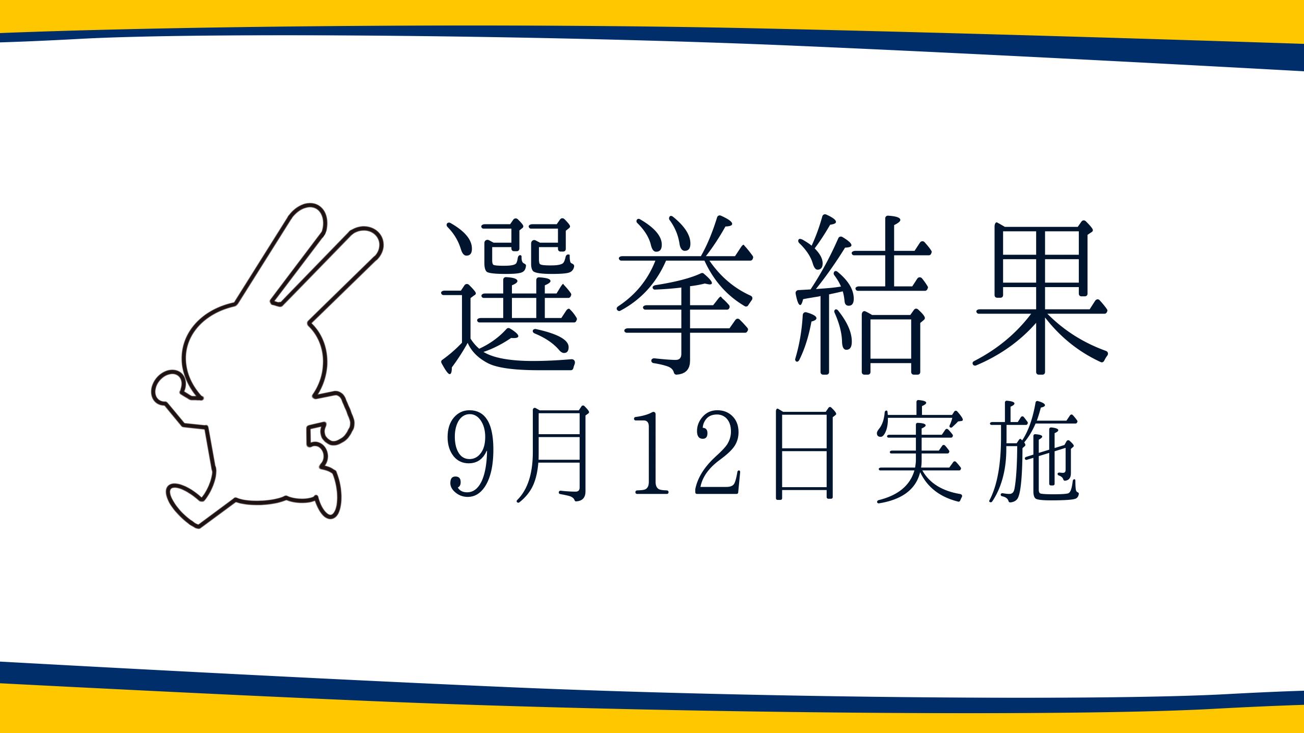 【選挙結果 9/12】三重県知事選挙