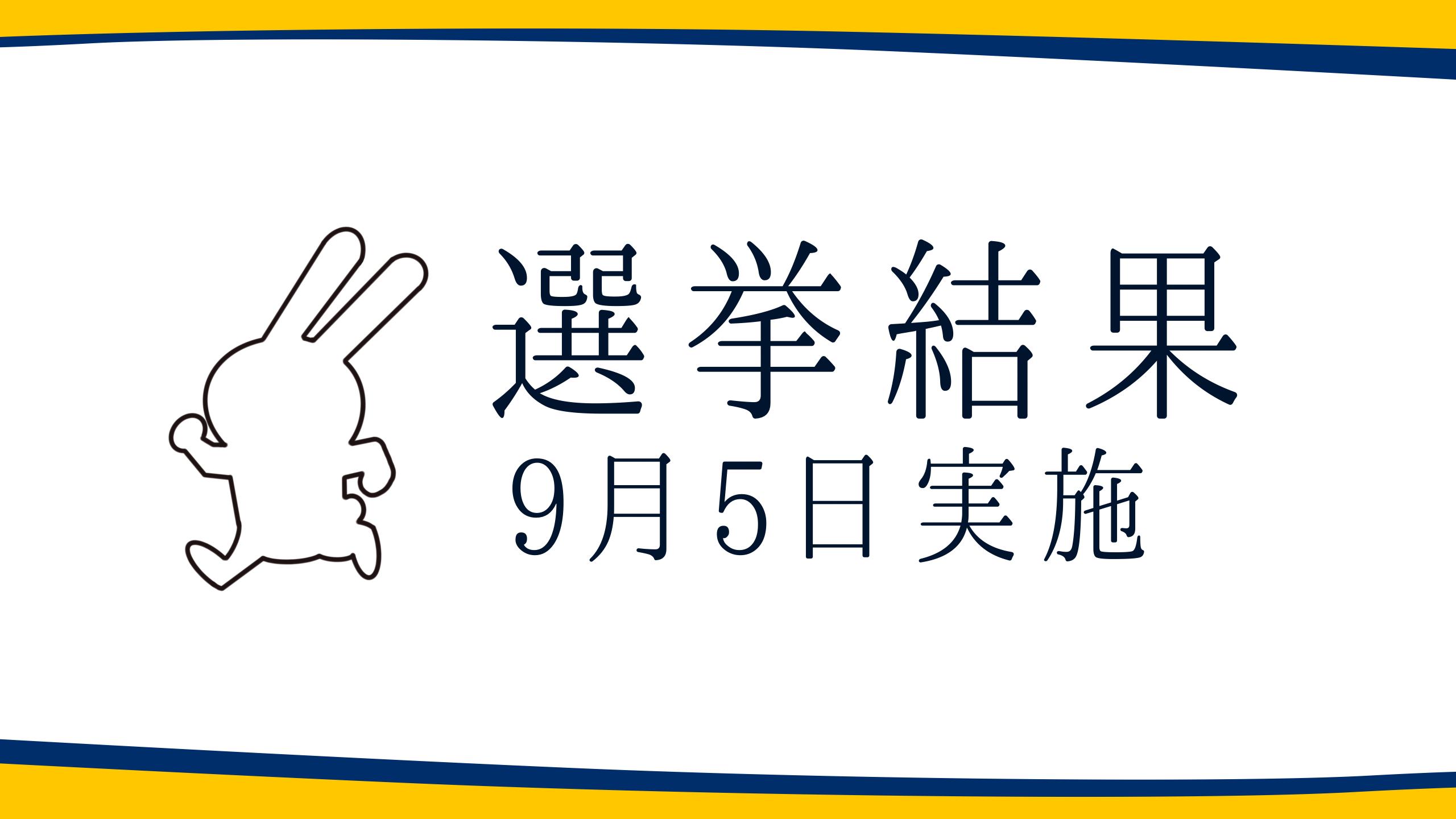 【選挙結果 9/5】茨城県知事選挙
