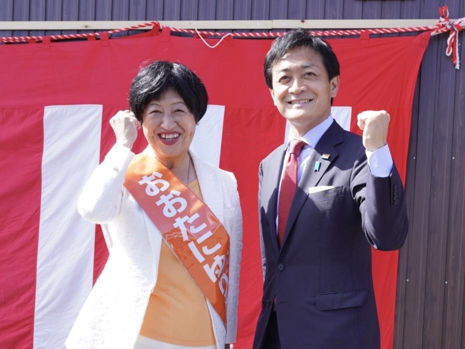【岐阜2区】大谷由里子候補「新しい政治を作るために絶対に勝たなければならない」